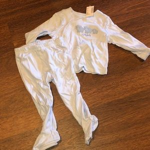 NWT - baby boy matching set 6-9 months